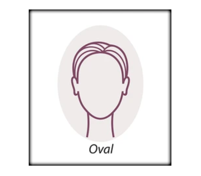 oval face