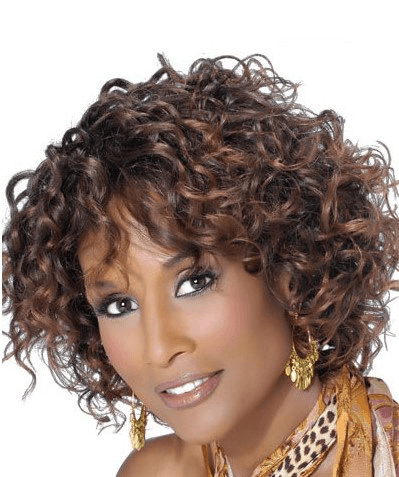 Beverly Johnson Classic Short Cut Lace Front Hair Wig