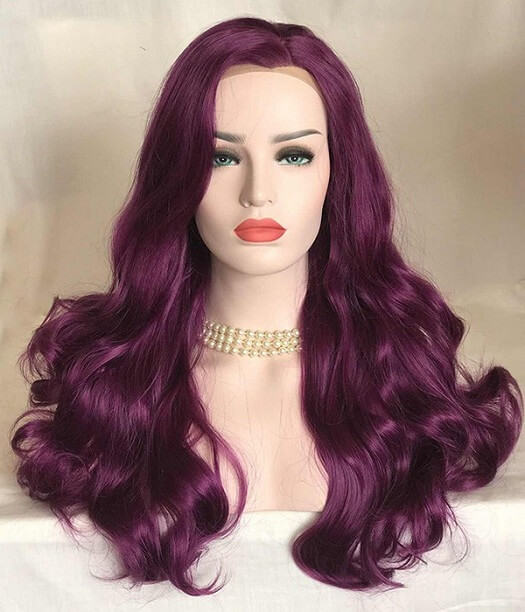 Mystique Purple Wig