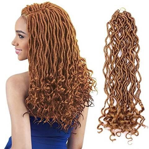 Brown Deep Dreadlock Wig