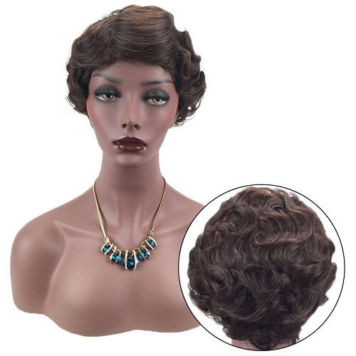 Retro Style Mommy Wig