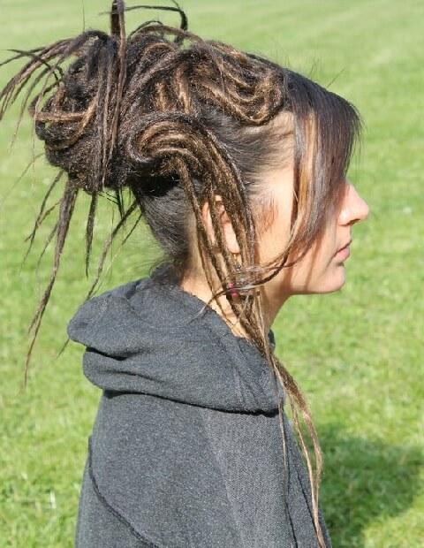 Two Dots Hair Mixed Dreadlock Wig