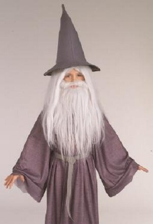 Gandalf Beard and Wig Set for Kids