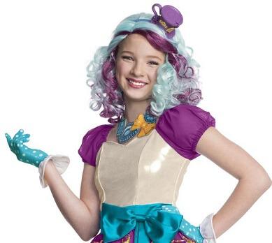 Madeline Hatter Kids Wig