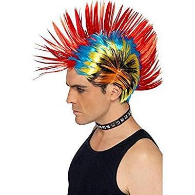 The 80s Street Punk Mohawk Wig