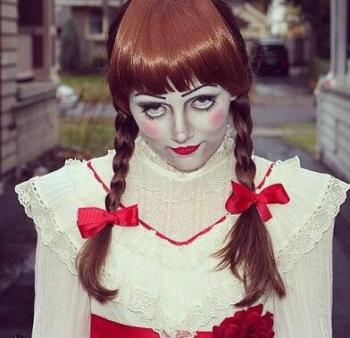 Annabelle Doll Wig