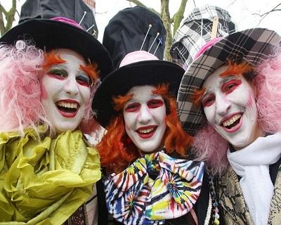 Cologne Festival wig
