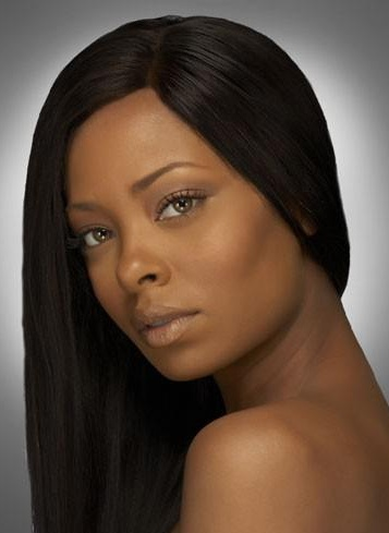 Indian wig straight hair style