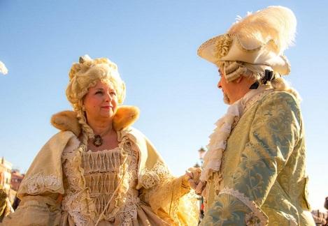 The Venice Carnival wig