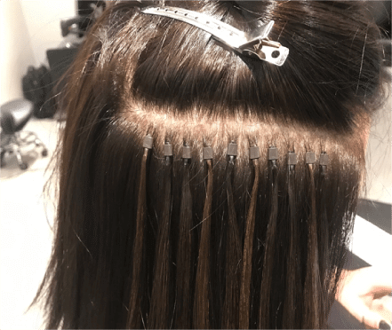 micro link micro bead extensions