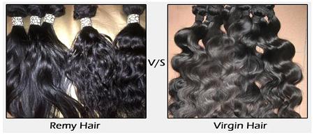 remy hair vs virgin hair