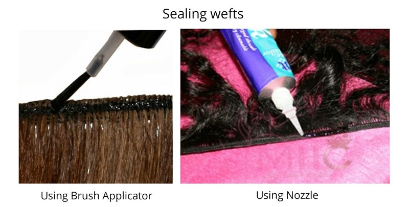 Seal Your Wefts